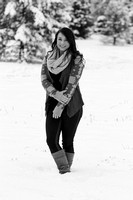 ~ Malory- Snowy Senior Session! ~